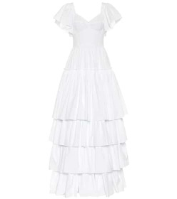 Dolce & Gabbana Tiered cotton dress