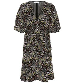 Chloé Printed crêpe dress