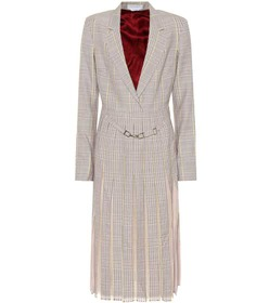 Gabriela Hearst Narcisa checked stretch-wool dress