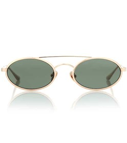 Self-Portrait Layla oval sunglasses