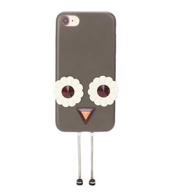 Fendi iPhone 7 embellished leather phone case
