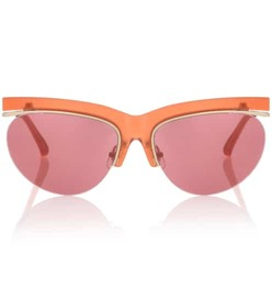 Dries Van Noten X Linda Farrow browline sunglasses