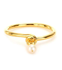 Makri for The Row YELLOW GOLD-PLATED BRONZE AND 95