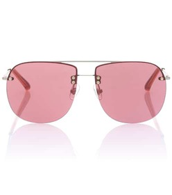 Dries Van Noten X Linda Farrow aviator sunglasses
