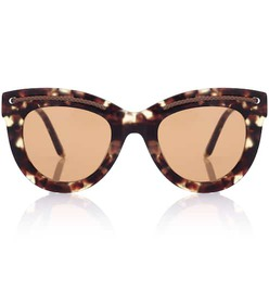 Bottega Veneta Tortoiseshell cat-eye sunglasses