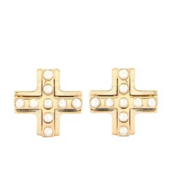 Givenchy Gold-plated embellished magnetic earrings