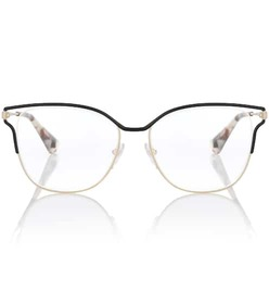 Prada Metal square glasses