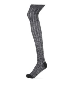 Miu Miu Over-the-knee wool socks