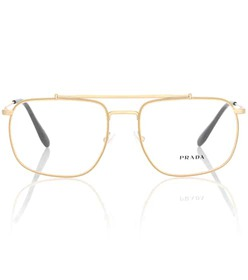 Prada Journal square glasses