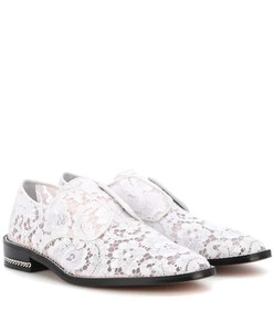 Givenchy Derby Double Chain lace shoes