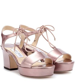 Jimmy Choo Belize 65 patent leather sandals