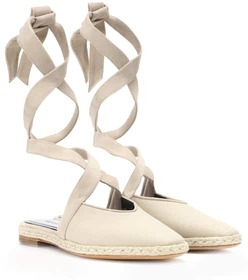 JW Anderson Canvas lace-up sandals