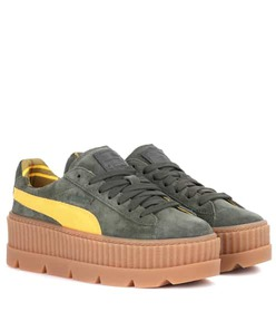 Fenty by Rihanna Creeper suede sneakers