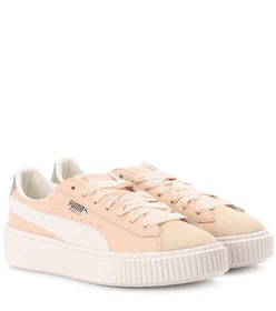 Puma Platform leather sneakers