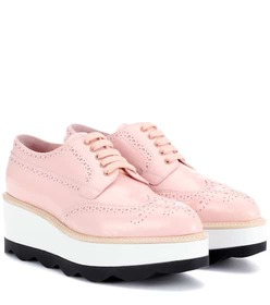 Prada Leather platform Oxford shoes