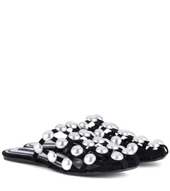 Alexander Wang Amelia studded suede slippers