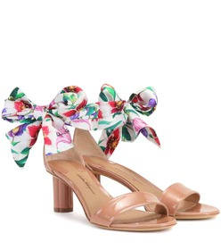 Salvatore Ferragamo Tursi 50 patent leather sandal