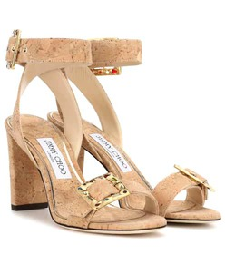 Jimmy Choo Dacha 85 cork sandals