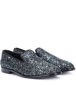 Jimmy Choo Marlo glitter loafers