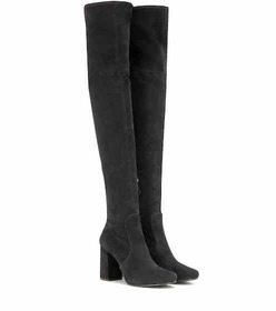 Prada Suede over-the-knee boots