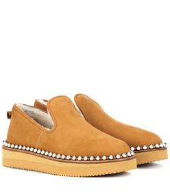 Alexander Wang Tedi shearling-lined slippers