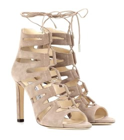 Jimmy Choo Hitch 100 suede sandals