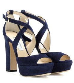 Jimmy Choo April 120 suede sandals