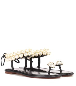 Tory Burch Melody embellished leather sandals