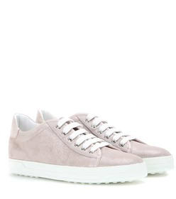 Tod's Leather-trimmed sneakers