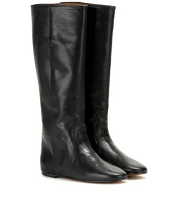 Isabel Marant Renee leather knee-high boots