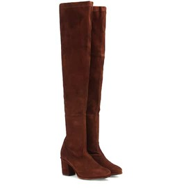 Opening Ceremony Marquee suede over-the-knee boots