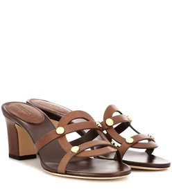Jimmy Choo Damaris 65 leather sandals