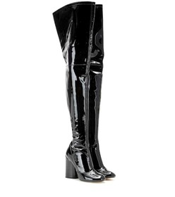 Marc Jacobs Patent leather over-the-knee boots