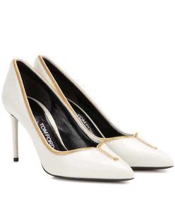 Tom Ford Embellished leather pumps
