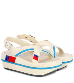 Prada Rubber platform sandals
