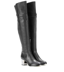 Jimmy Choo Mercer leather over-the-knee boots
