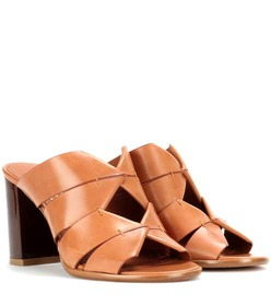 Salvatore Ferragamo Evelina leather mules