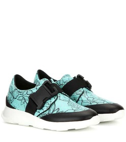 Christopher Kane Printed leather sneakers
