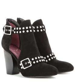 Marc by Marc Jacobs Devon studded suede ankle boot
