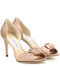 Jimmy Choo Kitty 85 satin sandals