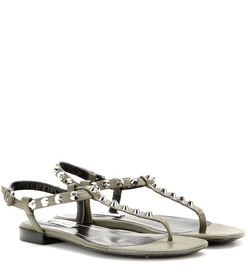 Balenciaga Classic studded leather sandals