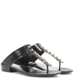 Balenciaga Classic Screw leather sandals