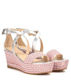 Jimmy Choo Portia 70 wedge sandals