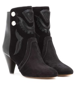 Isabel Marant Lola suede ankle boots