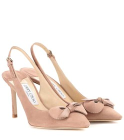 Jimmy Choo Blare 85 suede pumps