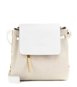 Sophie Hulme Claremont Crossbody leather and canva