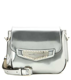 Tod's Metallic leather shoulder bag
