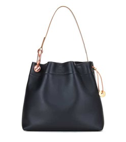 Tom Ford Medium Hook leather shoulder bag