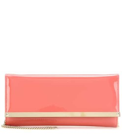 Jimmy Choo Milla patent leather clutch