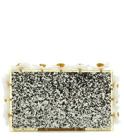 Charlotte Olympia Floral Pandora box clutch